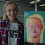 teen at easel 6