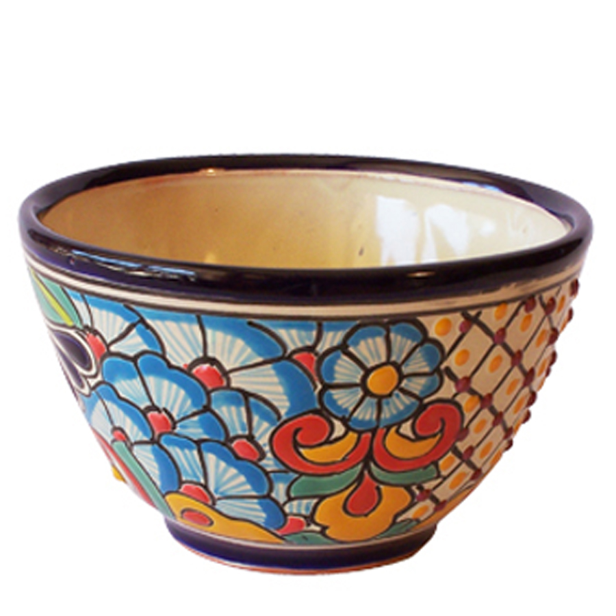 Beauty Mexican Pottery Design For Garden Accessories Pots By Anthar Round Pot