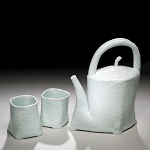 Wilson, Phil - Footed Tea Pot & Cups SM