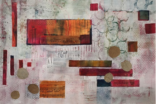 website Camp, Susanne (Birmingham) - Beyond the Layers I - mixed media