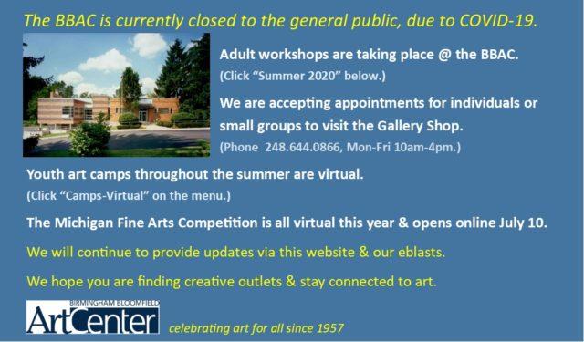 open w/restrictions June 25